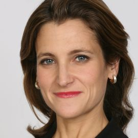 Chrystia Freeland Headshot
