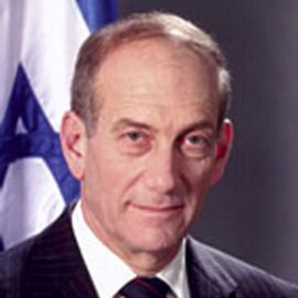 Ehud Olmert Headshot