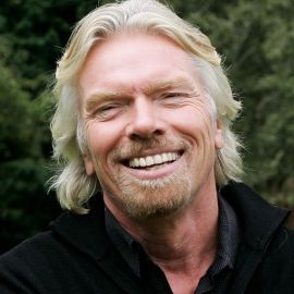 Sir Richard Branson Headshot