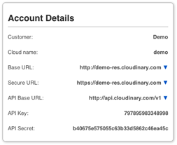 Account Details Sample