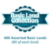 CoolStuffInc.com Basic Land Collection - 400 Assorted Basic Lands from Magic: The Gathering! Thumb Nail