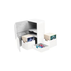 Ultimate Guard - Twin Flip'n'Tray Deck Case - XenoSkin Standard 200+ White