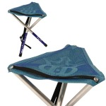 Camp Time Mesh Top Stool (Camp Time Mesh Top Stool, Tripod Stool)