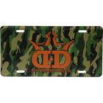 License Plate (License Plate, Camo DD Crown Logo)