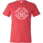 Lines of Sight DD Crown T-Shirt (Short Sleeve) (Performance Blend T-Shirt (Short Sleeve), Lines of Sight DD Crown Logo)