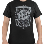 Innova 1983 Easy Tee Logo (Front) and small Innova Logo (Back) DryBlend T-Shirt (Short Sleeve) (DryBlend T-Shirt (Short Sleeve), Innova 1983 Easy Tee Logo (Front) and small Innova Logo (Back))
