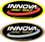 Oval Swoosh Sticker (Oval Sticker, Innova Logo)