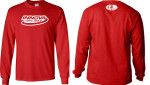 T-Shirt (Long Sleeve) (T-Shirt (Long Sleeve), Innova Swoosh (Front) and Golfer and Basket (Back))