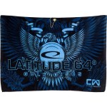 Full Color Sublimated Towel (Sublimated Golf Towel, Eagle)
