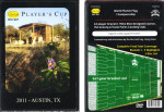 2011 Player's Cup (DVD, -)