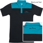 Dynamic Discs Two-tone Polo (Short Sleeve) (Two-tone Rapid Dry Polo (Short Sleeve), Dynamic Discs)