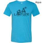 Latitude 64 Halftone Logo T-Shirt (Short Sleeve) (Performance Blend T-Shirt (Short Sleeve), Latitude 64 Halftone Logo)
