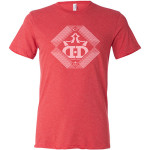 Lines of Sight DD Crown T-Shirt (Short Sleeve) (Performance Blend T-Shirt (Short Sleeve), Lines of Sight DD Crown Logo)