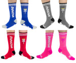 Lifestyle Crew Socks (Crew Socks, Innova Name and Basket Logo)
