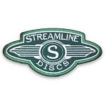 Streamline Discs Logo Iron-on Patch (Iron-on Patch, Streamline Discs Logo)