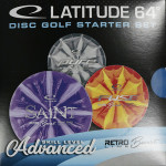 Advanced Intermediate Burst Disc Golf Set (Retro Burst Set, Standard)