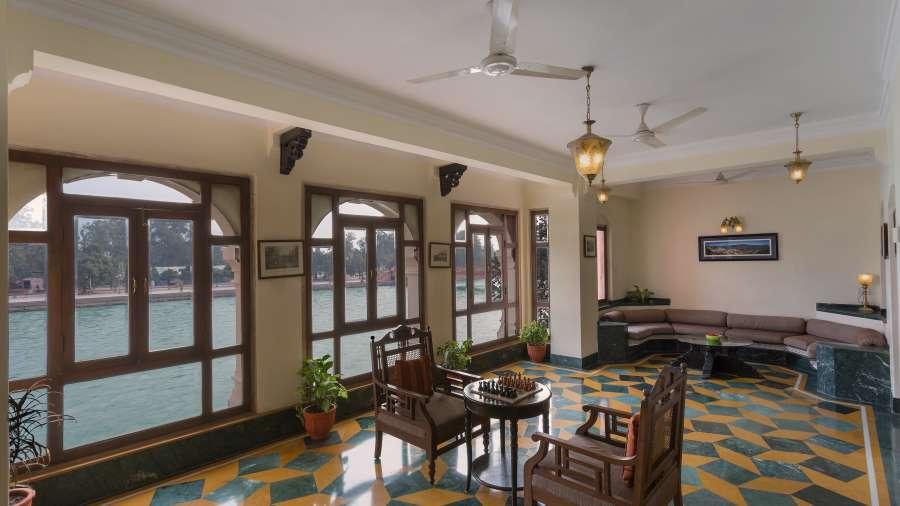 The Haveli Hari Ganga Hotel, Haridwar Haridwar chessboard setup 1