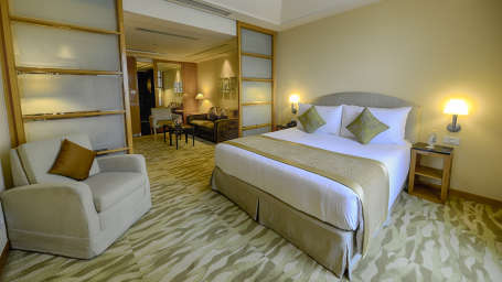 The Grand New Delhi New Delhi Business Suite at The Grand New Delhi Hotel on Nelson Mandela Road