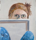 Self-portrait with Canvas